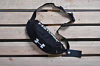 Бананка Under Armour текстить черная