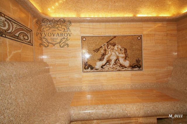 Картины из мозаики в хамам