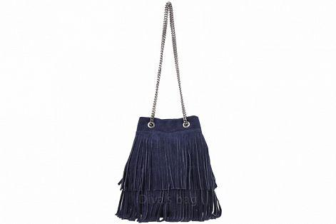 Женская сумка из замши Наима