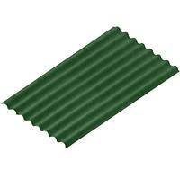 Лист битумный Ондулин Diy 2000х760 мм зеленый 9+1