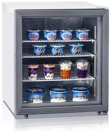 Морозильный шкаф барный hurakan hkn-uf100g