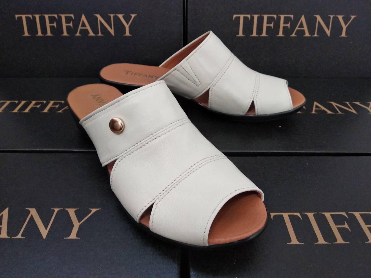Женские кожаные босоножки  сандалии сабо тапочки TIFFANY на танкетке платформе оптом