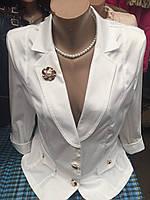 Пиджак нарядно-деловой женский большого размера