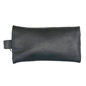 Ключница BagHouse плоская 14х7,5 см из натуральной кожи  мшклп14син, фото 2