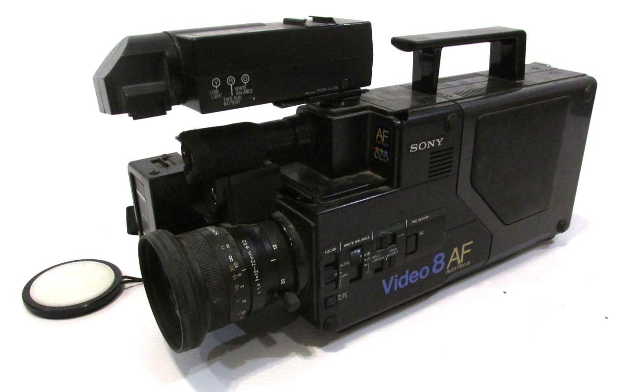 Видеокамера профессионал Sony CCD-V8AF-E, на восстановление, запчасти