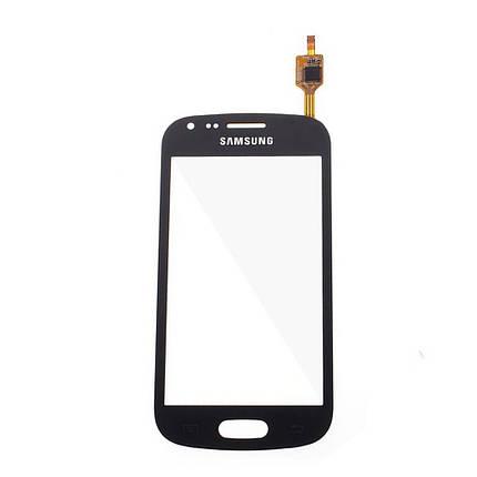 Cенсорный экран Samsung S 7562/S 7560 Galaxy S Duos BLACK, фото 2