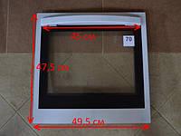 Дверца духовки плиты 495 х 475 мм, запчасти к газовой плите двери духовки (70)