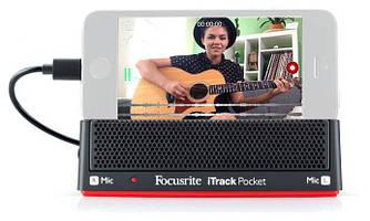 Микрофон и гитарный интерфейс FOCUSRITE ITRACK POCKET