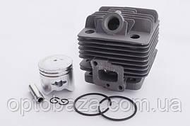 Цилиндро-поршневая группа 34 мм (черная) для мотокос серии 40 - 51 см, куб, фото 2