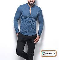 Турецкая хлопковая мужская рубашка в наличии