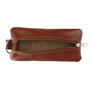 Ключница плоская  BagHouse 15х7 см из натуральной кожи  клп15кор, фото 2