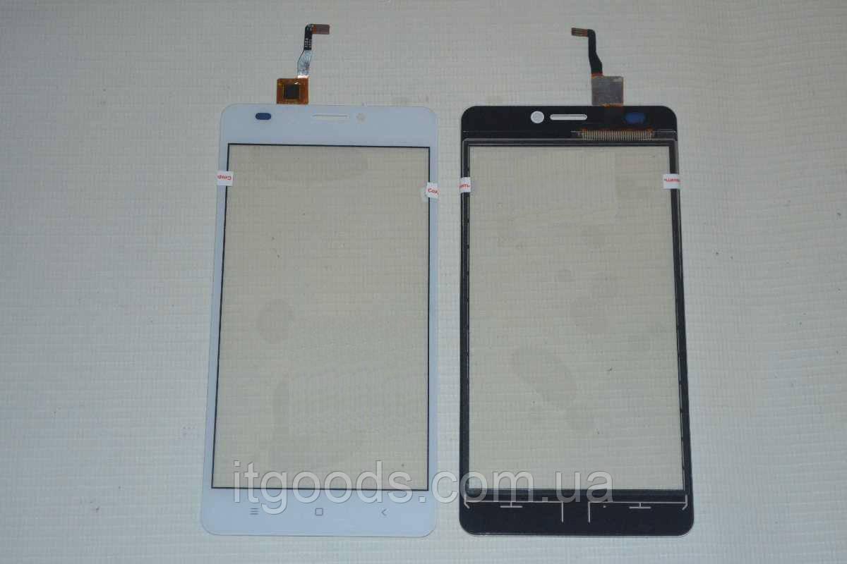 Оригинальный тачскрин / сенсор (сенсорное стекло) для Oukitel C3 (белы