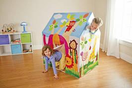 Детский игровой домик Палатка Intex 56823