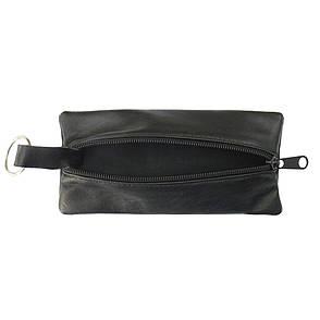 Ключница BagHouse плоская 15 Х 7 см из натуральной кожи клп15ч, фото 2