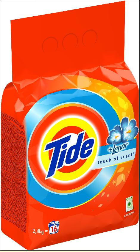Стиральный порошок Tide Lenor Touch of Scent 2.4 кг