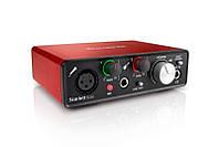 Аудиоинтерфейс 2 входа/2 выхода USB FOCUSRITE SCARLETT SOLO
