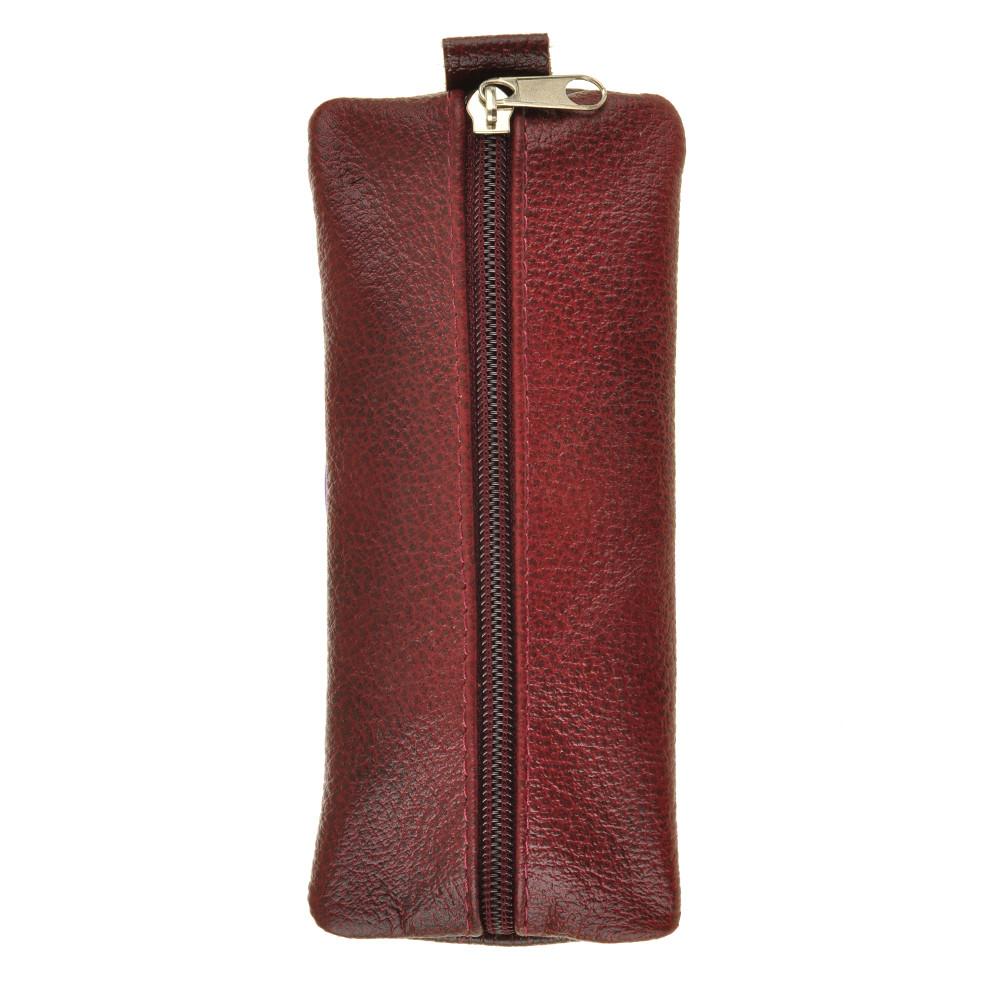 Ключница плоская BagHouse 15 х 7 см из натуральной кожи клп17кор