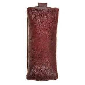 Ключница плоская BagHouse 15 х 7 см из натуральной кожи клп17кор, фото 2