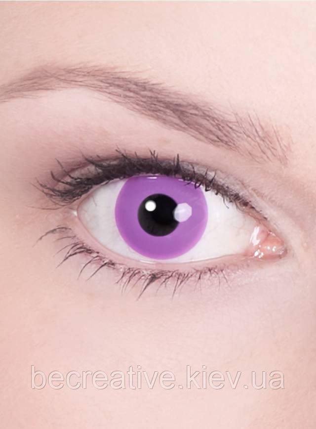 Фиолетовые декоративные линзы