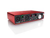 Аудиоинтерфейс 2 входа/4 выхода USB FOCUSRITE SCARLETT 2I4