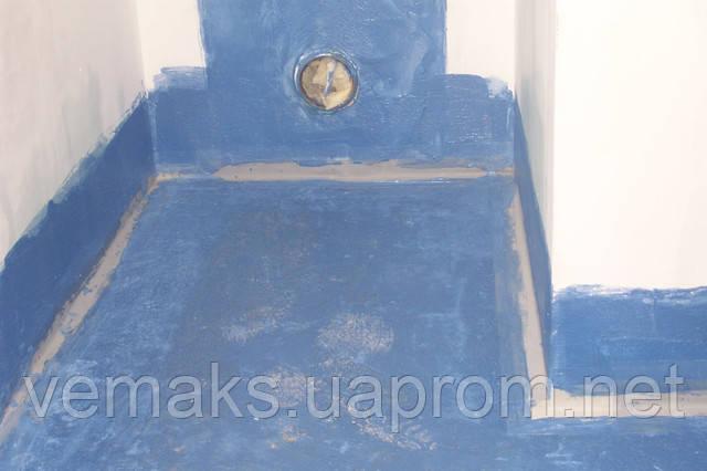 Гидроизоляция ванной с Izofol Flex