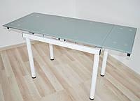 Стіл обідній розкладний Maxi DT TR W  900/600 сірий  , фото 1