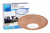 Светильник потолочный светодиодный DELUX LCS-001 Glory 60W с пультом ДУ
