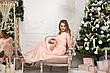 Изысканное нарядное длинное платье с гипюром, фото 4