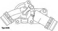 Термостат BMW X3 (E83)/5 (E39/E60/E61)/7 (E38/E65/E66/E67)/X5 (E53), WAHLER 4326.97D