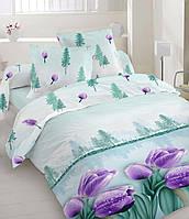 Комплект постельного белья Бязь Тюльпаны