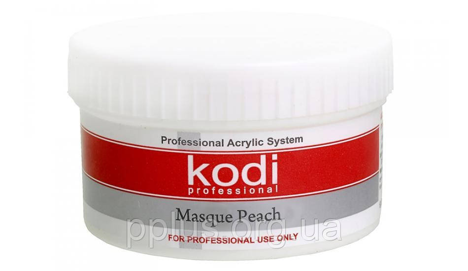 Матирующая акриловая пудра персик + Kodi professional 60гр.
