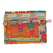 Косметичка-кошелёк женская BagHouse цветная 17х12 ткань нейлон   к 7
