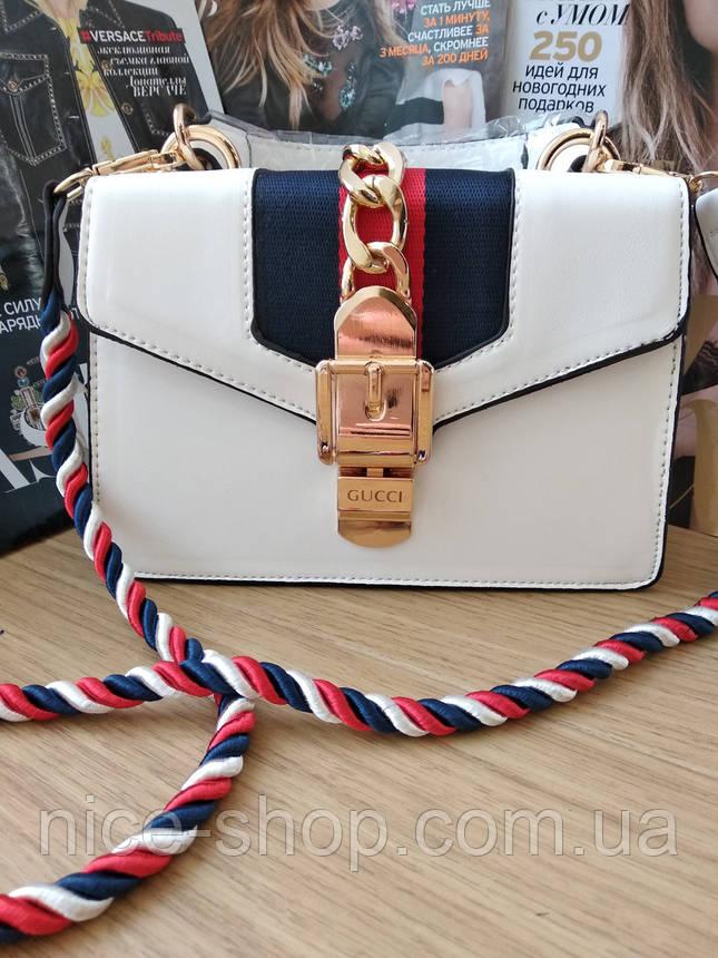 Сумочка Gucci белая, фото 2