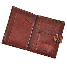 Бумажник WANDY мужской 10х14х2 застёжка кнопка м А-2-302кор, фото 2