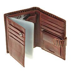 Бумажник WANDY мужской 10х14х2 застёжка кнопка м А-2-302кор, фото 3