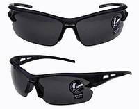 Защитные очки, очки для стрельбы, солнцезащитные, вело, тактические Shooter темно-серые