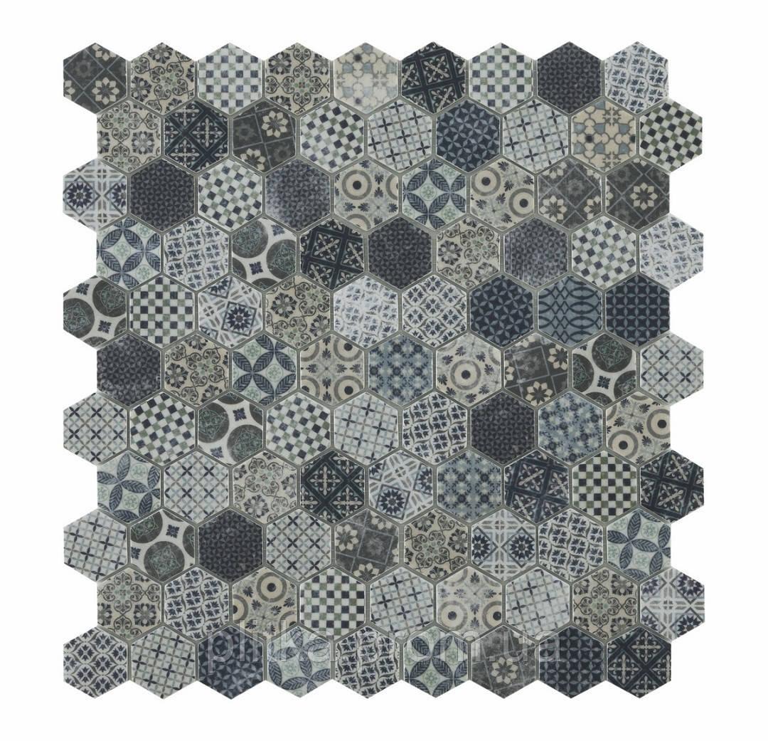 Мозаїка Honey Decor Terre Blue 4706 31,5*31,5