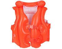 Детский спасательный надувной жилет 3-6 лет Intex 58671