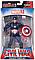 Фигурка Капитан Америка с держателем, Мстители, 18 см - Captain America, Avengers, Marvel, фото 2