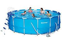 Каркасный бассейн Bestway круглый 457 х 122 см