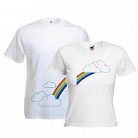 Парные футболки с принтами