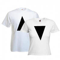 Парные футболки для двоих