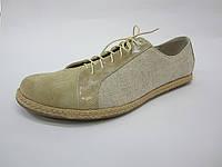 Обувь из конопли. Туфли мужские «Логан 2»