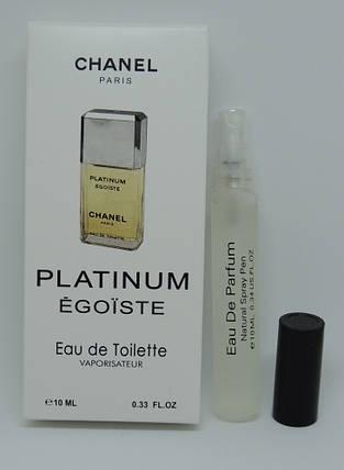 Мини-парфюм Chanel Egoiste Platinum (10 мл), фото 2