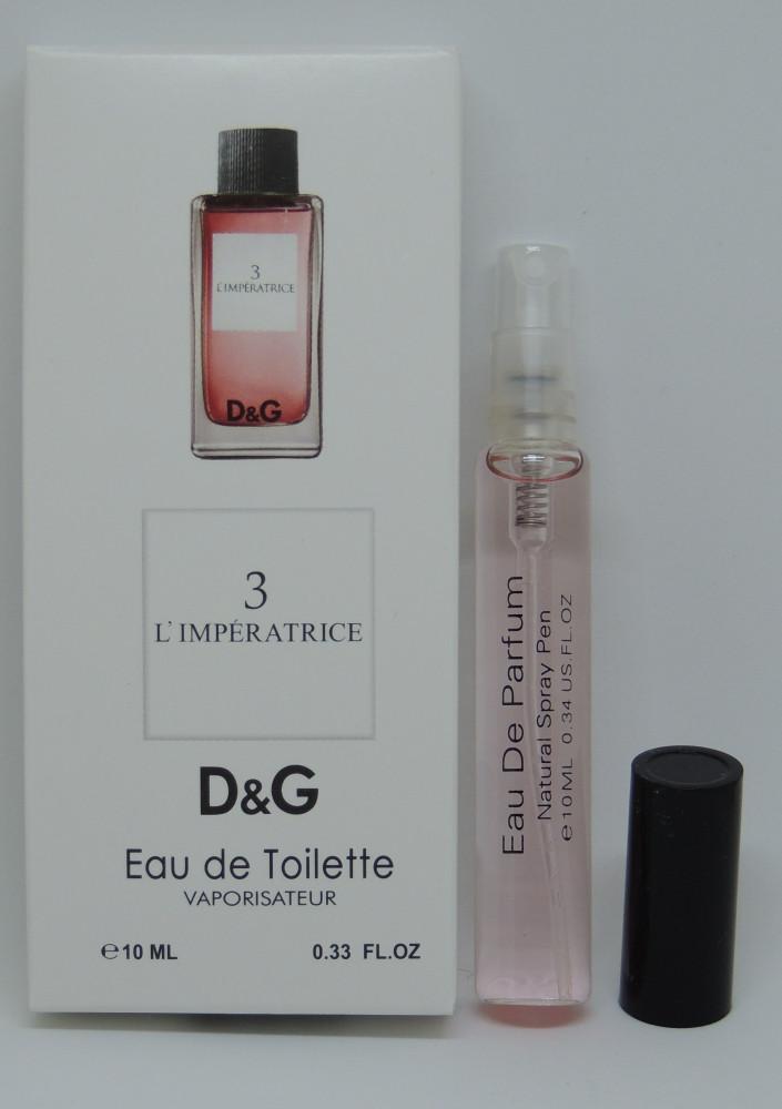 Мини-парфюм Dolce&Gabbana Anthology L'Imperatrice 3 (10 мл)