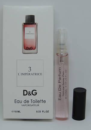 Мини-парфюм Dolce&Gabbana Anthology L'Imperatrice 3 (10 мл), фото 2