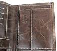 Мужское кожаное портмоне ALWAYS WILD SPRM034 Brown коричневый, фото 9