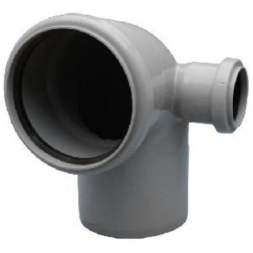 Колено канализационное ПП 110 регулирующее