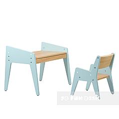 Детский стол и стул FunDesk Omino Blue