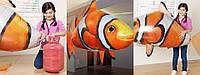 Надувная летающая рыба Clownfish, Рыба клоун на радиоуправлении